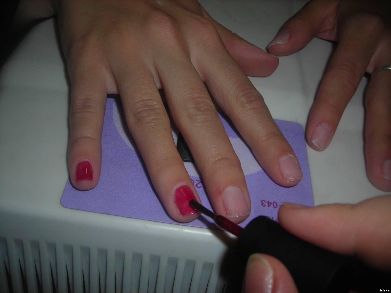 Как снимать ногти гелем фото